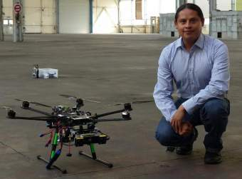 José Martínez Carranza (From article: http://phys.org/news/2015-05-scientist-drones-autonomously-routes.html)